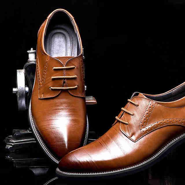 Мужская обувь для солидных людей в возрасте