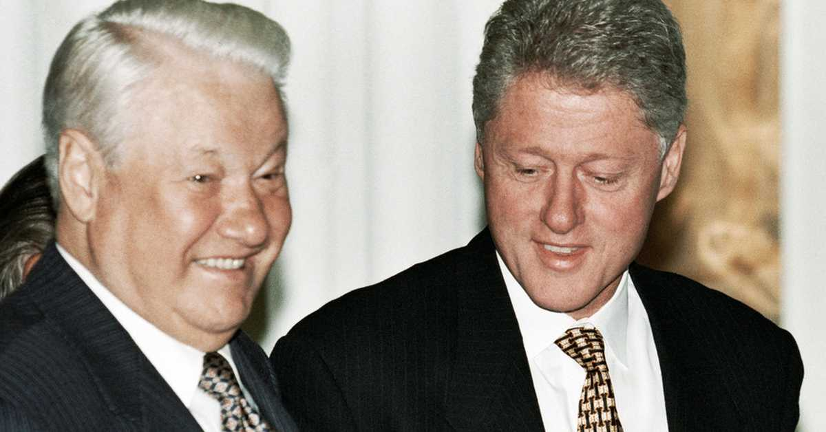 yeltsin and clinton 25