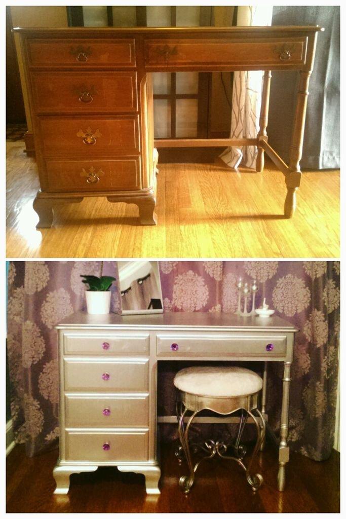 Реставрация полированной старой мебели
